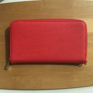 All About The Benjamin's Wallet Very Cherry Pebble